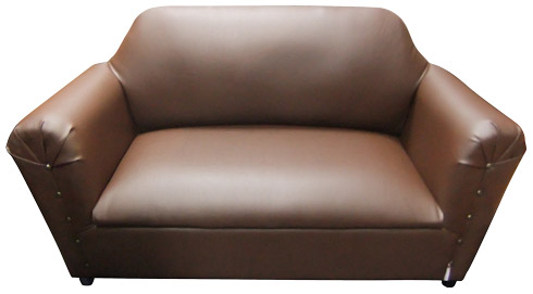 Double Couch Faux Leather